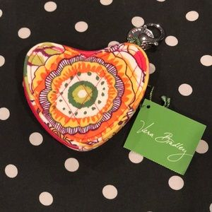 Vera Bradley Sweetheart Colin Purse in Clementine